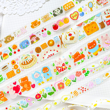 6pcs/lot cute doodle series lovely cute fresh decorative PET tape