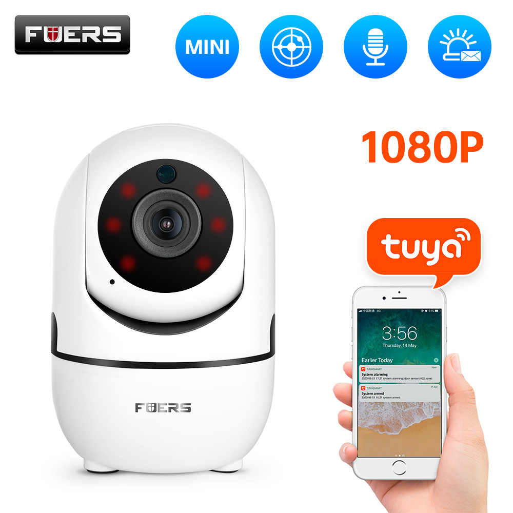 Fuers 1080P Ip Camera Tuya App Babyfoon Automatische Tracking Beveiliging Indoor Camera Surveillance Cctv Draadloze Wifi Camera
