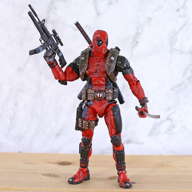NECA Дэдпул конечный коллекционер 1/10 масштаб Epic Marvel ПВХ фигурка Коллекционная модель игрушки