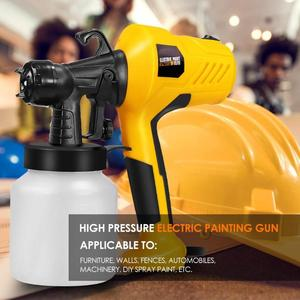 Image 4 - 220V 400W High Pressure Suction Type DIY Spray Paint Tool Airbrush Spray Gun Applicable to Furniture Machinery and DIY
