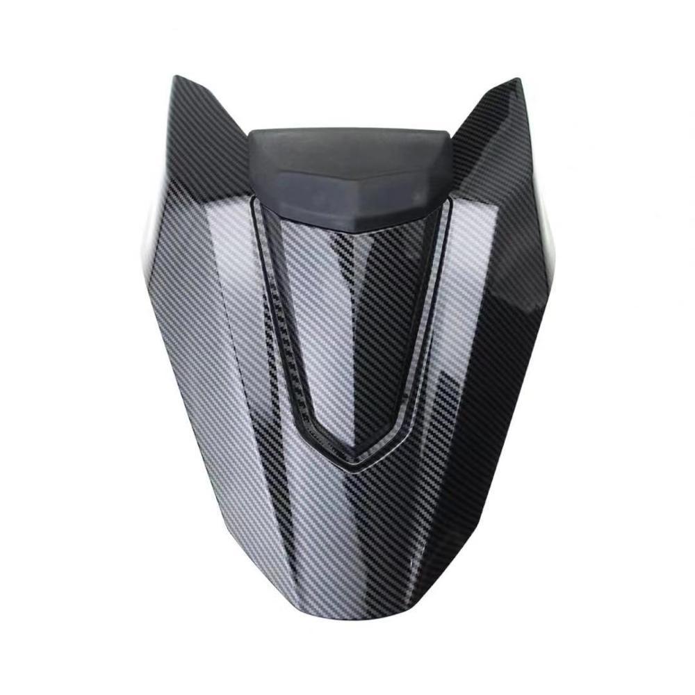 Mklightech para honda cb650r cb 650r cbr650r cbr 650r 2019 capa de assento traseiro da motocicleta traseira capa de assento passador traseiro