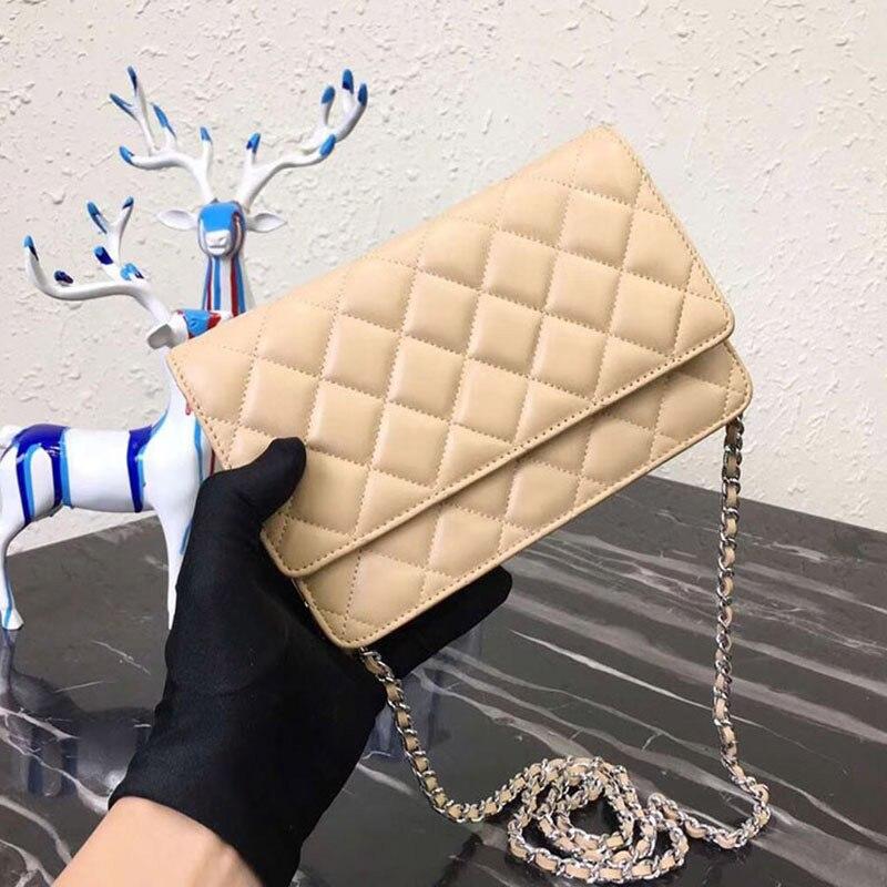 Luxury Handbags Designer Bag Women Top Quality Crossbody Bag Genuine Leather Mini Purse Feminina Chain Caviar Shoulder Bags Woc