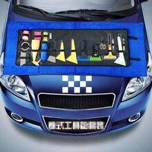 Car film tool kit, film tool kit, car body carry-on film cutting gasket steel scraper plastic scraping beef tendon scraping kit