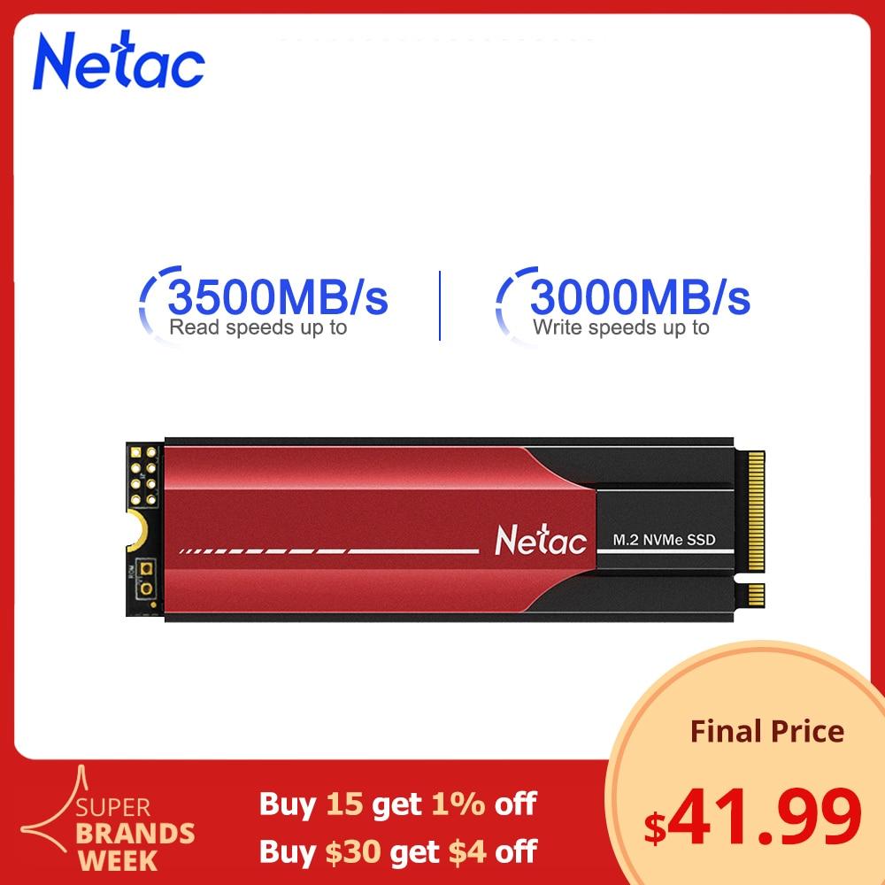 Netac SSD M2 NVMe SSD 1 ТБ M.2 NVMe PCIe SSD 2 ТБ 500 Гб 250 Внутренний твердотельный жесткий диск SSD жесткий диск для ноутбука