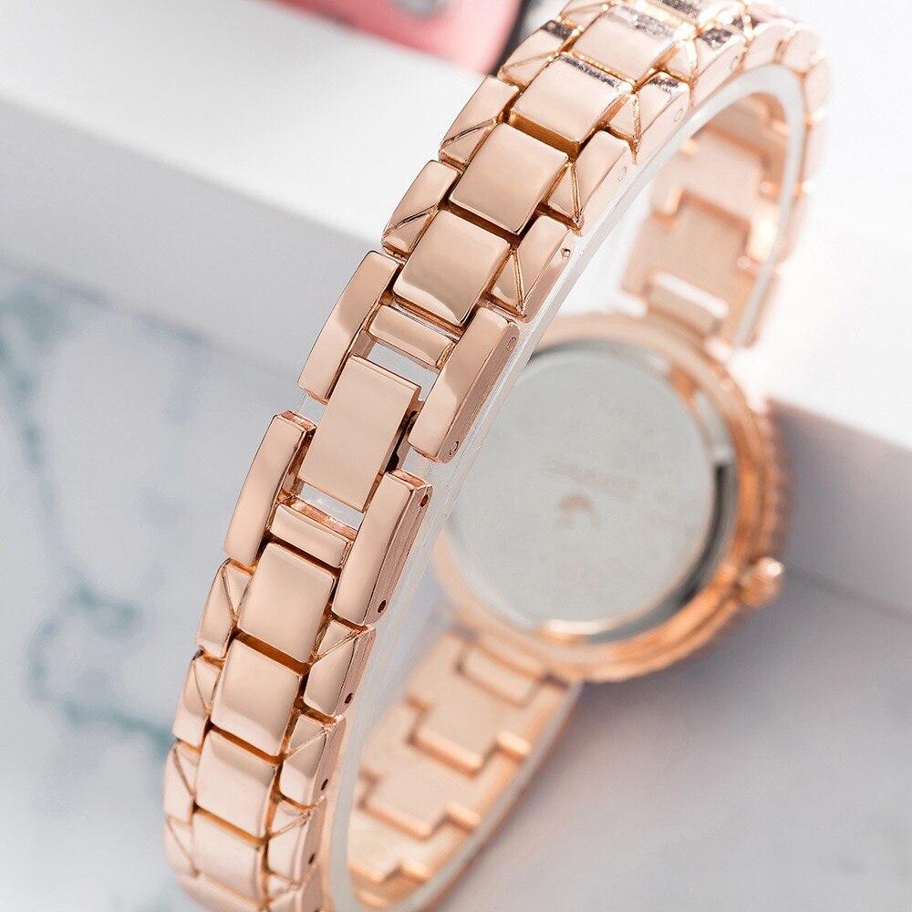 Ensemble de montre diamant Bracelet mignon dauphin collier cadeaux de dame 6