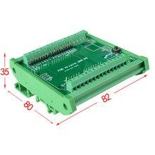 Módulo do adaptador do bloco terminal do parafuso da montagem do trilho do ruído, para uno r3.