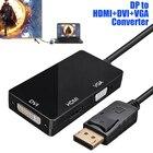 DP to HDMI DVI VGA C...