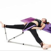 Ligament iron leg stretcher 3 legs split machine trainer open leg pressure ball ballet yoga dance flexible balance training tool
