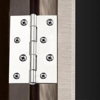 10 stücke 8 Löcher Edelstahl Scharniere Anschlüsse für Fenster Küche Schrank-in Türscharniere aus Heimwerkerbedarf bei