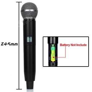 Image 4 - GLXD24 GLXD4 Professional UHF Wireless Microphone System Beta58a Handheld Mic Dual Channels Cordless Digital Receiver For Church