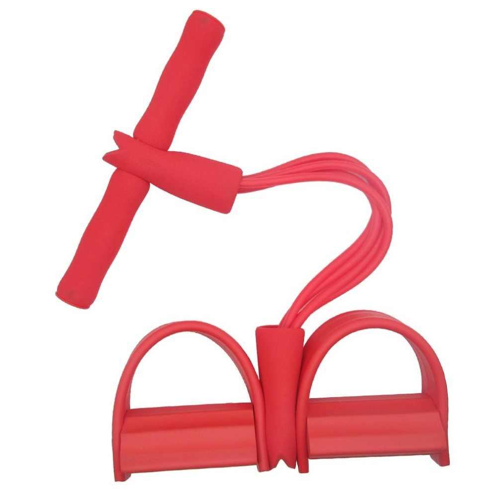 Multifunctionele twee-buis/vier-buis tractor pedaal pedaal pedaal elastische touw kalf touw sit- ups buik been spanner voet puller