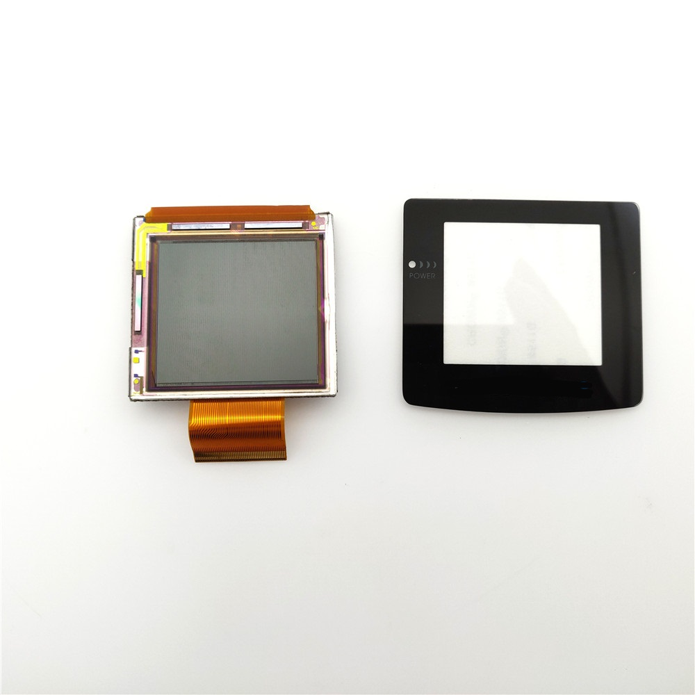 Kit de tela lcd original normal para console de gameboy, cor para console gbc