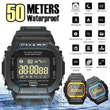 цена на EX16T Smart Watch Men 5ATM Waterproof 18 Month Standby Bluetooth Smartwatch Remote Control Sports Pedometer Watches
