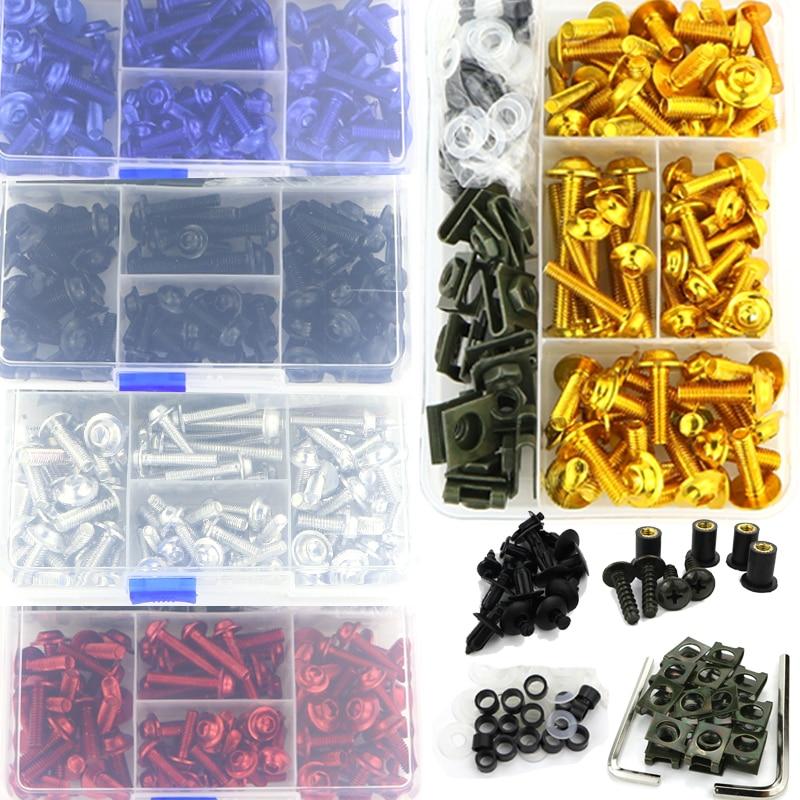 CNC Complete Full Fairing Bolts Kit Screws For Ducati Multistrada 950 1200 1200S 1200 Enduro Monster 695 696 796 797 821 1200