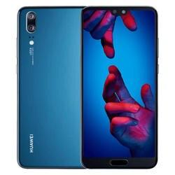 Huawei P20, объемом памяти 4 Гб/128 ГБ синего цвета с двумя сим-картами EML-L29