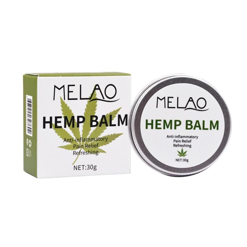 30g Effectve Muscle Pain Relief Health Care Herbal Ingredient Massage Professional Hemp Balm Salve Cream