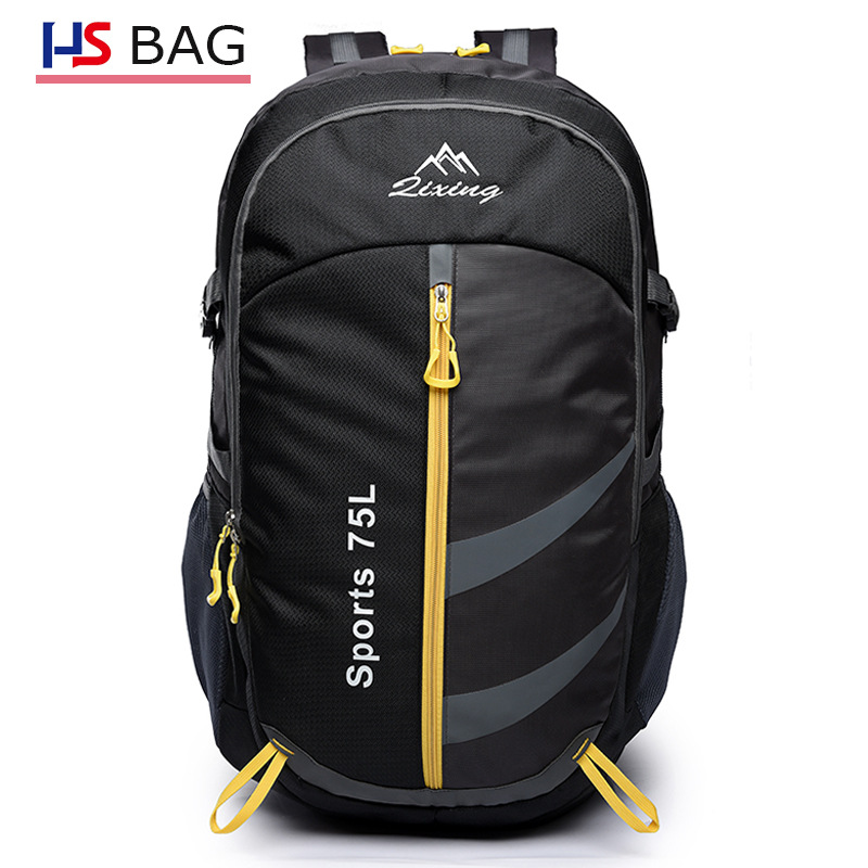 2018 New Style Mountaineering Bag Men Korean-style Waterproof Oxford Cloth Backpack Outdoor Hiking Ultra-Light Backpack