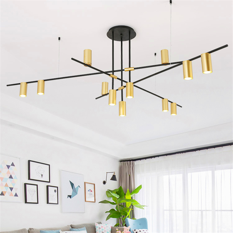 Modern chandeliers E27 Metal LED chandeliers Lighting LOFT bedroom dining room Kitchen Fixtures hanging lamp lustre luminaire