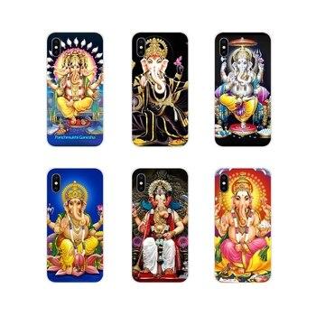 Para Samsung A10 A30 A40 A50 A60 A70 Galaxy S2 nota 2 3 Oneplus 3T 5T 6T cubiertas transparentes suaves Señor Ganesha hindú Ganesh Buda