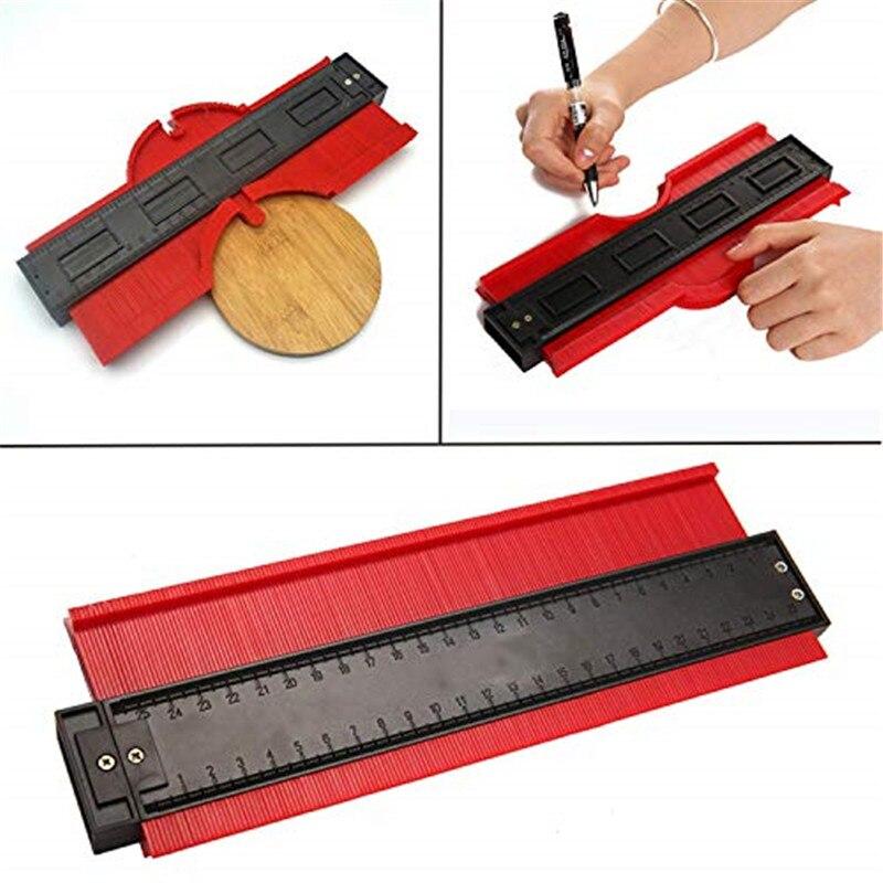 ASCENDAS, 20 дюймов/510 мм, пластиковый профиль, копировальный калибр, контурный калибр, Дубликатор, плитка, инструмент для маркировки древесины, п...