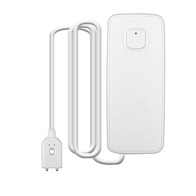 ABKT-Wifi Water Sensor Water Leak Detector Water Level Leakage Sensor Alarm Smart House Works With Alexa Google Home Ifttt