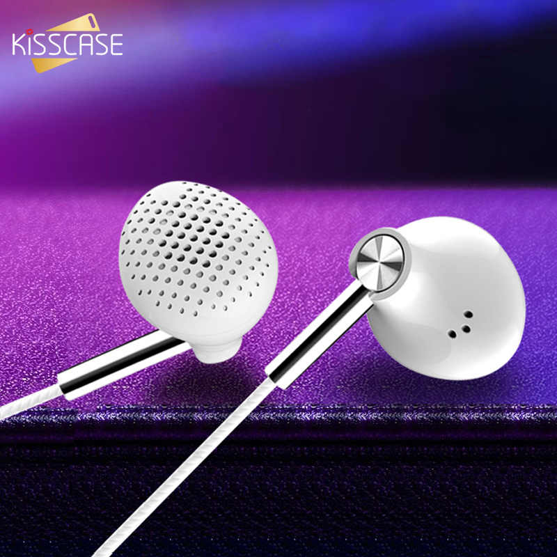Ciuman 6D Stereo Bass 3.5 Mm Wired Earphone Stereo Speaker Mini Olahraga Musik Headset dengan Mi Crophone Crophone Xiao Mi Mi 8 9 Se Headphone
