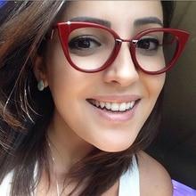 Sunglases Woman Eye Glasses Frame Retro Round Computer Blu Glasses Frame Luxury