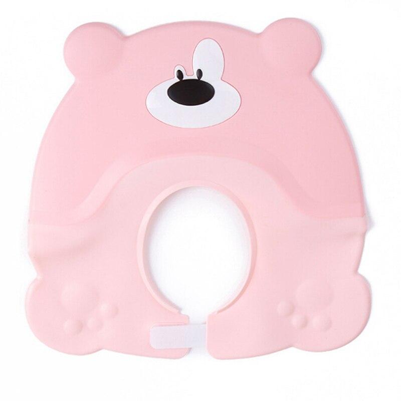 Baby Shower Hat Adjustable Toddler Kids Shampoo Bathing Shower Cap Wash Hair Shield Direct Visor Caps For Baby Care