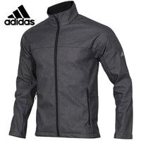Original Adidas Softshell Jkt Mens Long Sleeves T shirt Polyester Sweatshirt DM1908