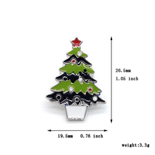 Collection Enamel Pin Cartoon Santa Claus Christmas Tree Snowman High Quality Brooch Lapel Pin Custom Badge Christmas Jewelry high quality hat pin lapel pin soft enamel low price custom zinc alloy lapel pin fh680020