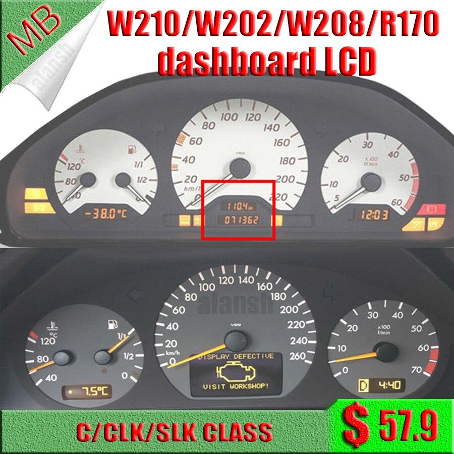 Pixel Repair Tools Kit for Mercedes W202 W208 W210 Instrument Speedometer Cluster