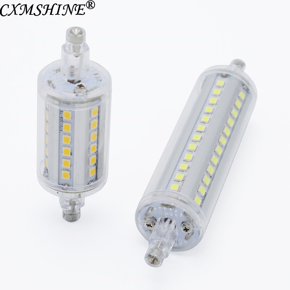Lamparas <font><b>R7S</b></font> <font><b>LED</b></font> Corn 78mm <font><b>118mm</b></font> Light 2835 SMD Bulb 7W 14W Replace Halogen Lamp <font><b>Bombillas</b></font> <font><b>led</b></font> lamp image