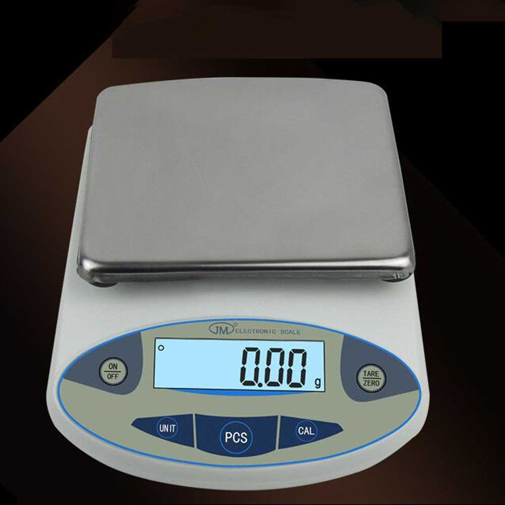 5kg x 0.01g Lab Analytical Digital Balance Scale Jewellery Electronics said ,with LCD display weight sensor high quality