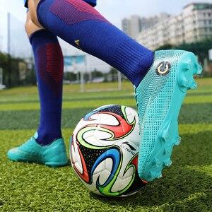 Image 3 - Chaussures de football longues explosives et cassées, chaussures de sport légères et légères, respirantes, à la mode, chaussures de sport pour enfants