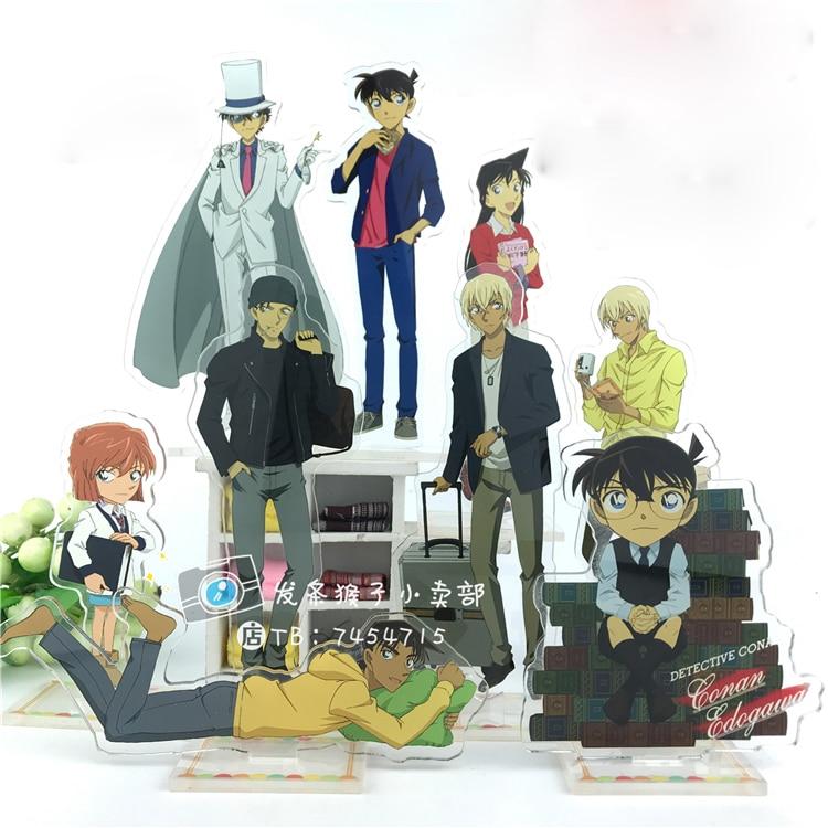 Anime Detective Conan Case Closed Conan Edogawa Jimmy Kudo Graythorn Acrylic Stand Figure Decoration Cosplay Desk Decor 15cm