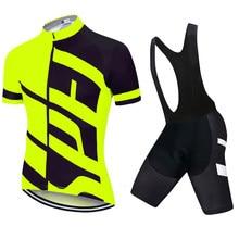 2021 specializedful pro equipe de bicicleta manga curta maillot ciclismo men camisa ciclismo verão respirável ciclismo conjuntos roupas