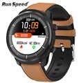 L3 inteligentny zegarek wodoodporny kobiety mężczyźni Smartwatch okrągły ekran krokomierz z pomiarem tętna zadzwoń wiadomość z przypomnieniem inteligentny monitor aktywności