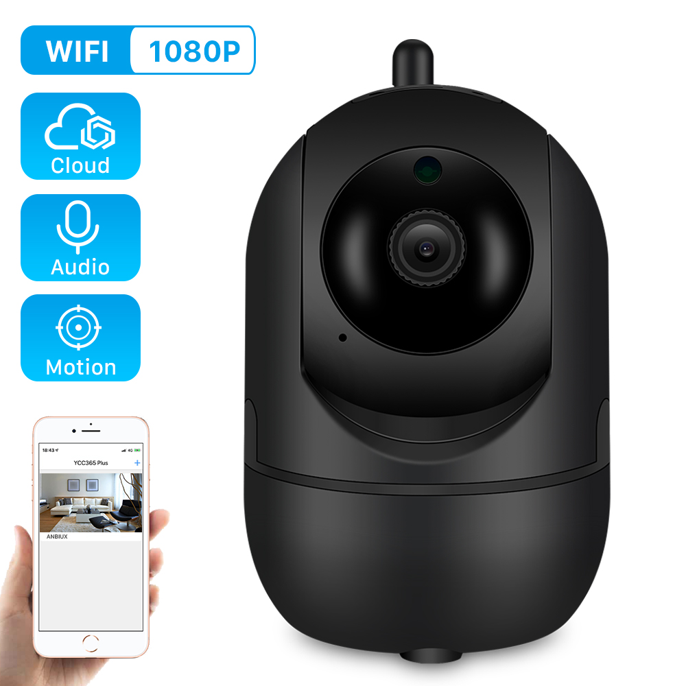Ip-Camera Auto Tracking PTZ Cctv-Network Surveillance Smart Home-Security 1080p Wireless