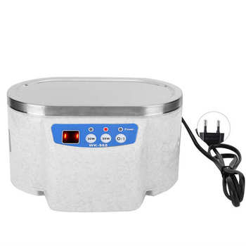 Digital Timming Ultrasonic Ultrasonic Cleaner Watch Jewelry Glasses Circuit Board Cleaning Machine 600ml Bath Sonic Cleaner 800ml ultrasonic cleaner household cleaning machine for watch jewelry glasses false teeth ultra sonic cleaner bath tank