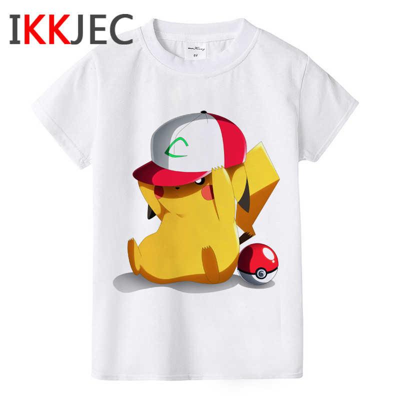 Kids Clothes T Shirt Matryoshka Pikachu Evolution Pichu Pokemon T