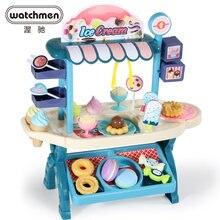 Конфеты Мороженое корзина детский магазин стол дети ролевые