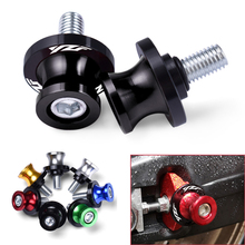 Motorcycle accessories 6MM Swingarm Spools slider stand screws for yamaha YZF R6 1999 2000 2001 2002 2003 2004 2005 2007  2016