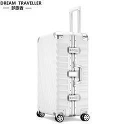 Мечта путешественника путешествия тележка случае немой Универсальный колеса студентов белый воротник багаж тусклый польский устойчивый