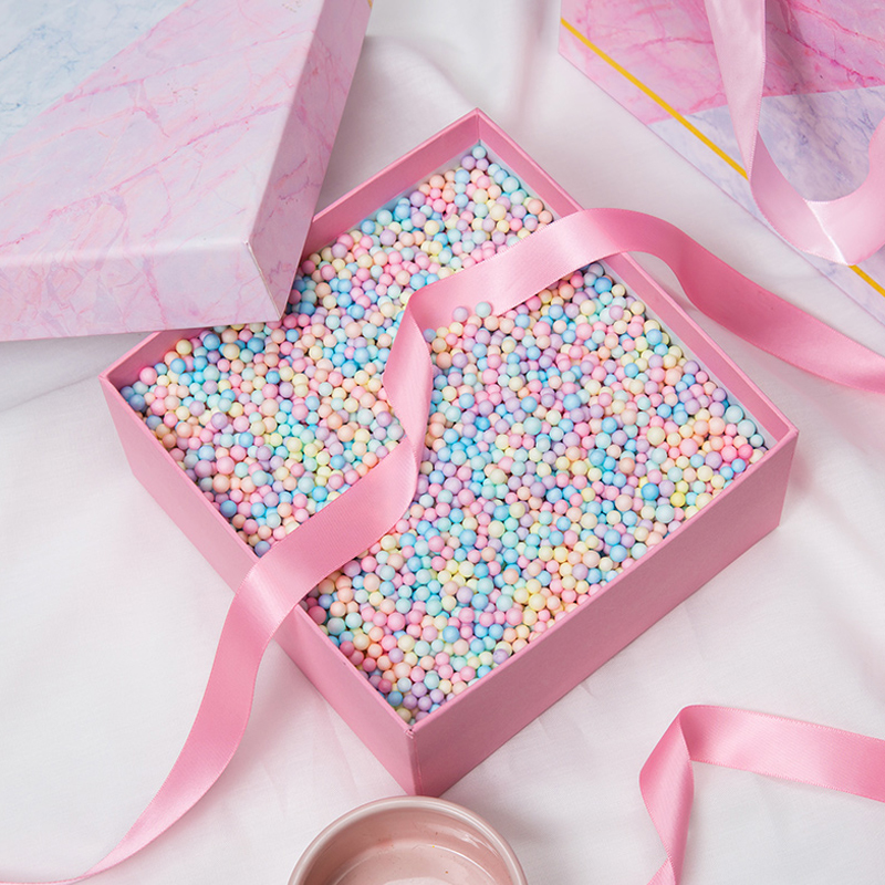 30g Tiny Foam Balls Foam Beads Foam Decorative Ball DIY Crafts Wedding Birthday Gift Box Filler Decoration Kids Plush Toy Filler