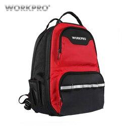 WORKPRO 2019 новый дизайн сумка для инструментов многофункциональный рюкзак органайзер для инструментов сумка водонепроницаемый сумки для инст...