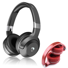 HIFI Foldable Headset Wireless Headset Bluetooth Headphone Stereo Headset Stereo Sport Headphones with Microphone for Cellphone cheap YIKAZE Dynamic Wireless+Wired 96dB for Video Game Common Headphone For Mobile Phone HiFi Headphone NONE User Manual Charging Cable