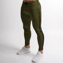 Jogger Training Fitness-Trend Pants New Brand Men Splicing Can-Add-Your-Own-Logo Leisure