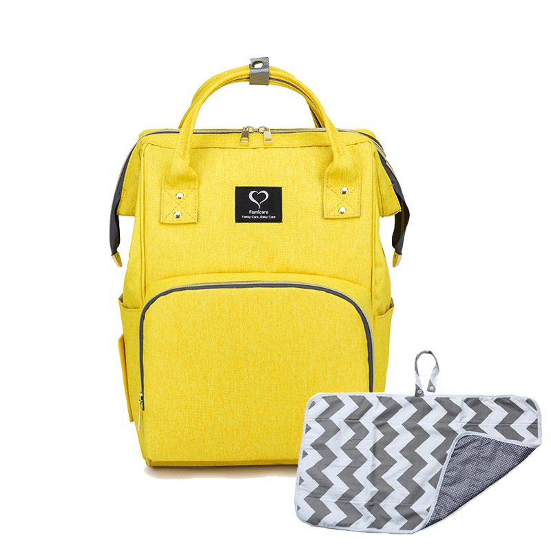 Baby Diaper Bag Backpack Maternity Moms Dad and Baby Travel Using Products Nursing Bag Baby Care Items Changing Pad