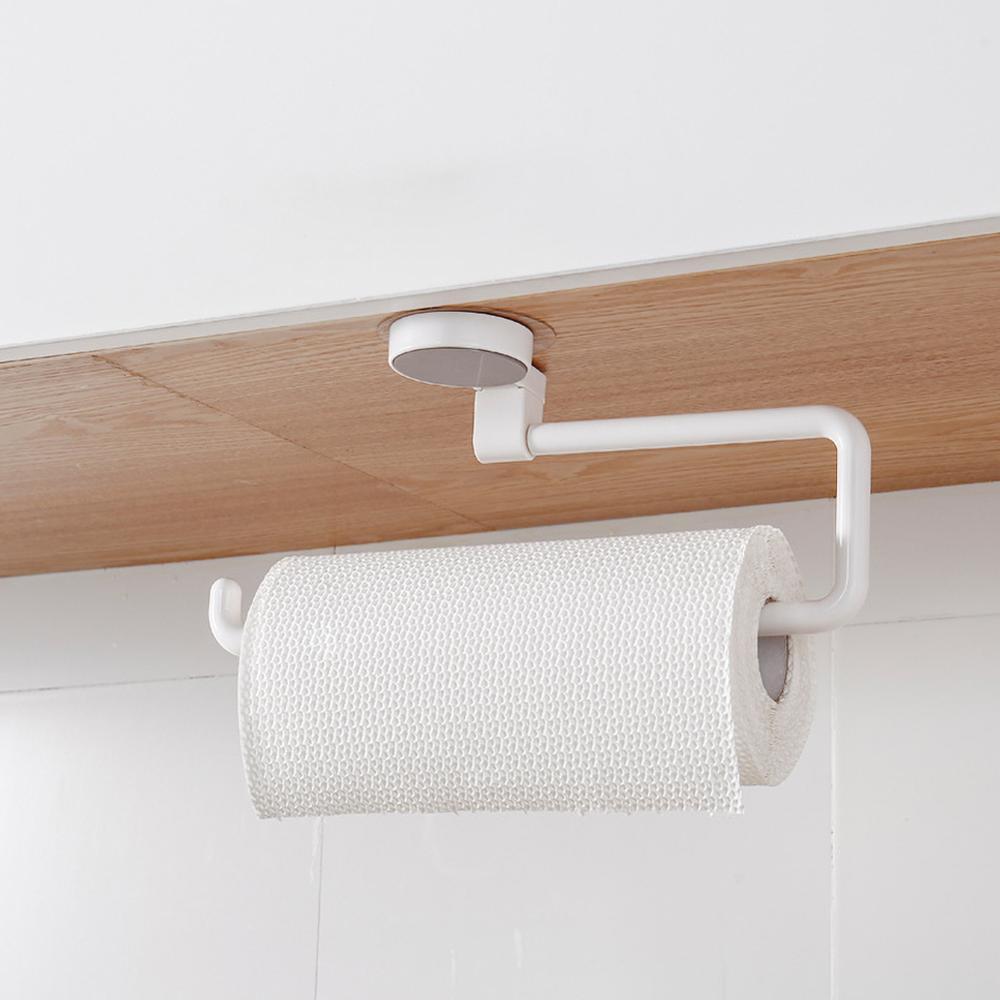 Soporte para toallero de papel de rollo de estante de cocina a partir de soportes de papel para toallas de baño sin rastro Mosaico azul de diamantes, azulejos de cocina, Adhesivo de pared, resistente al aceite impermeable, papel de pared de baño autoadhesivo, decoración del hogar, 60*200cm