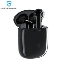 SoundPEATS Bluetooth 5.0 TWS Earphone Hi Fi Sound APTX Wireless Earbuds with Qualcomm Chip CVC Noise Cancellation Touch Control